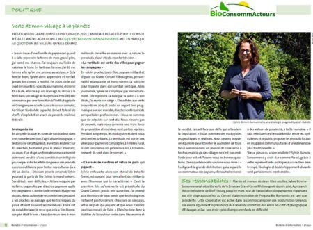 articles Sylvie Bonvin